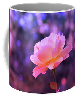 Rosy Glow Pink Rose - Floral Photography From The Garden Coffee Mug