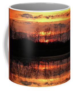 Rosy Mist Sunrise Coffee Mug
