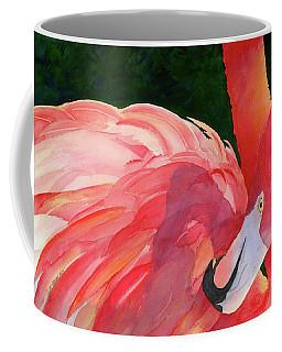 Rosy Outlook Coffee Mug by Judy Mercer