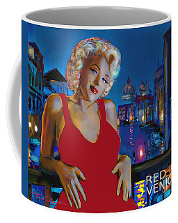 Rot In Venedig / Red In Venice Coffee Mug