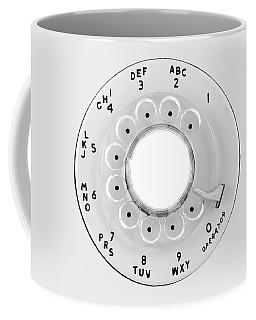 Rotary Telephone Dial Coffee Mug