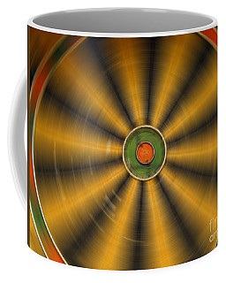 Rotating Dartboard Coffee Mug