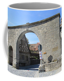 Rothenburg 1 Coffee Mug by Randall Weidner