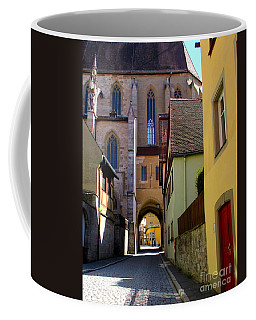 Rothenburg 16 Coffee Mug by Randall Weidner