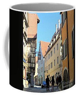 Rothenburg 18 Coffee Mug by Randall Weidner