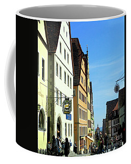 Rothenburg 20 Coffee Mug by Randall Weidner