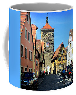 Rothenburg 6 Coffee Mug by Randall Weidner