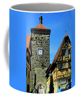 Rothenburg 7 Coffee Mug by Randall Weidner