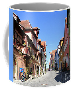 Rothenburg 8 Coffee Mug by Randall Weidner