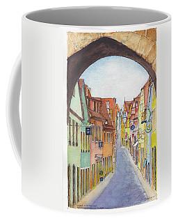 Rothenburg Ob Der Tauber Germany Coffee Mug