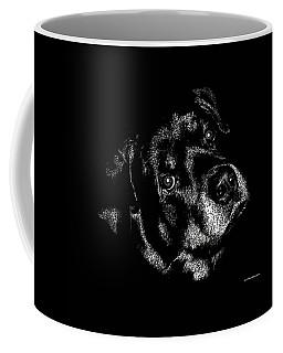 Rottweiler Mozart Portrait Coffee Mug