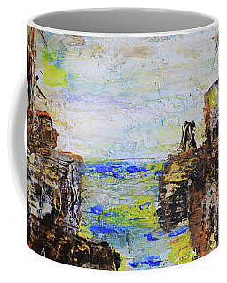 Rough Country Abstract Coffee Mug