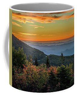 Rough Morning - Blue Ridge Parkway Sunrise Coffee Mug