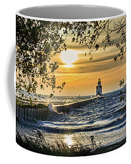 Coffee Mug featuring the photograph Rough Opening by Bill Pevlor