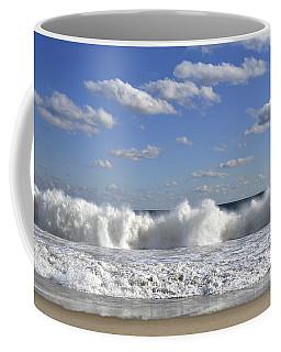 Rough Surf Jersey Shore  Coffee Mug