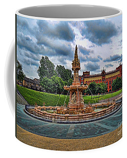 Coffee Mug featuring the photograph Round About by Roberta Byram