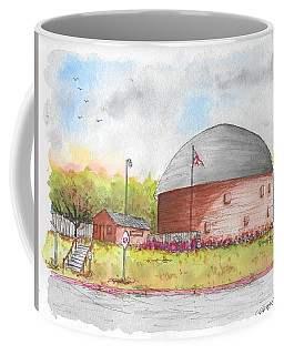 Round Barn In Route 66, Arcadia, Oklahoma Coffee Mug