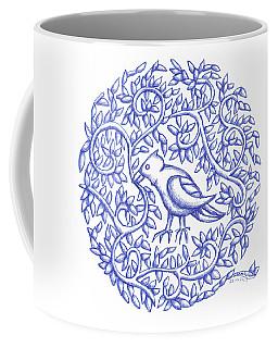 Round Bird January 17 Coffee Mug
