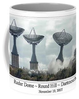 Round Hill Radar Demolition Coffee Mug