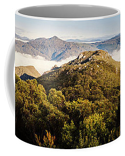 Round Mountain Lookout Coffee Mug