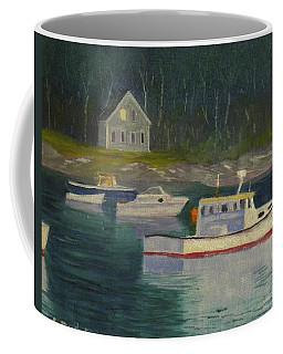 Round Pond Fading Light Coffee Mug
