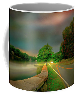 Coffee Mug featuring the photograph Round The Bend by Diana Angstadt