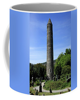 Round Tower At Glendalough Coffee Mug