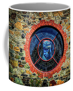 Round Window Fresco Coffee Mug