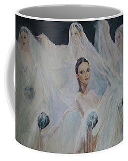 Roundelay. Ballet Dancers Coffee Mug
