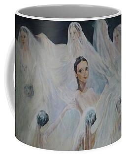 Roundelay. Ballet Dancers Coffee Mug