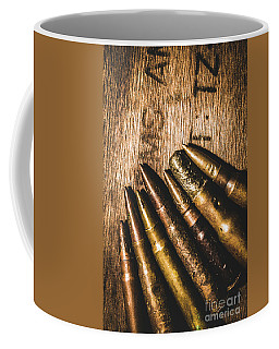 Rounds Of Historic Battle Coffee Mug