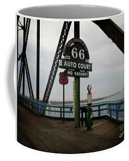 Route 66 Auto Court Coffee Mug