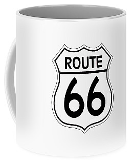 Route 66 Sign Coffee Mug