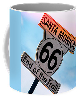Route 66 End Of The Trail Coffee Mug