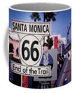 Route 66 End Of Trail Coffee Mug