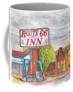 Route 66 Inn In Amarillo, Texas Coffee Mug