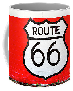 Route 66 Mural Coffee Mug