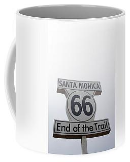 Route 66 Santa Monica- By Linda Woods Coffee Mug