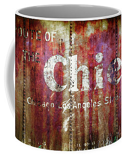 Coffee Mug featuring the photograph Route Of The Chief by Lou Novick