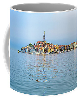 Rovinj In The Early Morning Fog, Istria, Croatia Coffee Mug