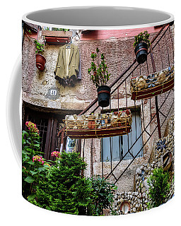 Rovinj Old Town Courtyard, Rovinj Croatia Coffee Mug