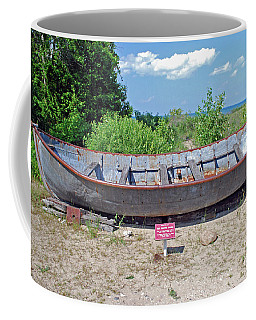 Coffee Mug featuring the photograph Row Boat by Gary Wonning