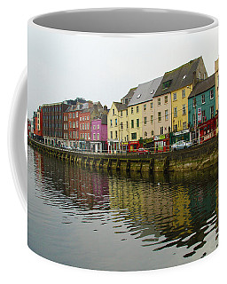 Row Homes On The River Lee, Cork, Ireland Coffee Mug