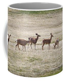 Row Of Deer  Coffee Mug