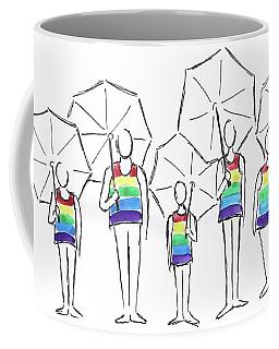 Row Of Defenders Coffee Mug
