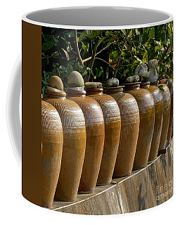 Row Of Pickling Jars Coffee Mug