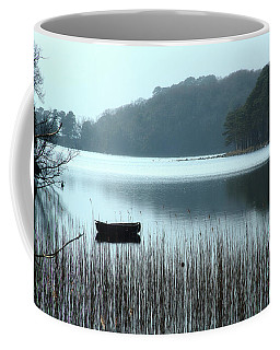 Rowboat On Muckross Lake Coffee Mug
