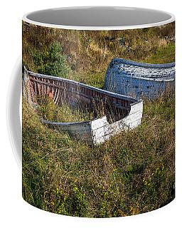 Rowboats In Brigus Coffee Mug