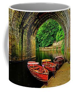 Rowing Boats In Durham City Coffee Mug