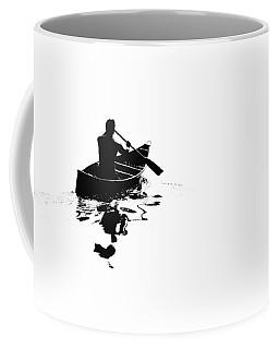 Rowing Into White Coffee Mug